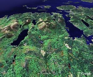 阿卡迪亚国家公园 - Google Earth