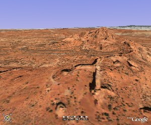 Arches National Park - Google Earth
