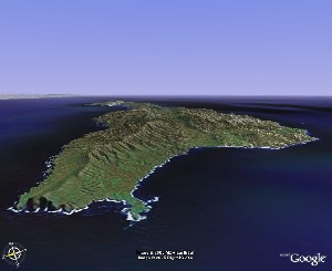 Channel Islands - Google Earth