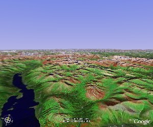 Gates of the Arctic National Park - Google Earth