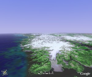 Glacier Bay National Park - Google Earth