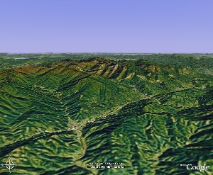 黄山 - Google Earth