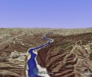 黄河壶口瀑布 - Google Earth