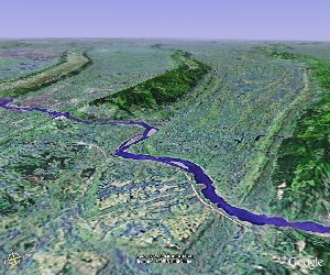 Mount Jinyun - Google Earth