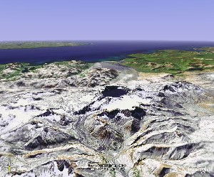 Katmai National Park - Google Earth