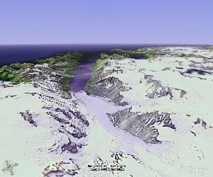 Kenai Fjords National Park - Google Earth