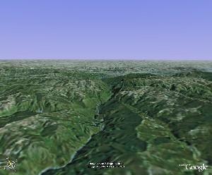 崆峒山 - Google Earth