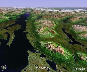 克拉克湖国家公园 - Google Earth