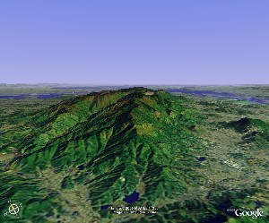 Mount Lu - Google Earth
