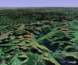 Maling River - Google Earth
