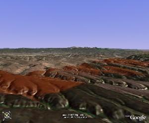 Mesa Verde National Park - Google Earth