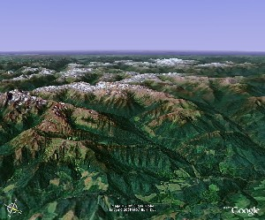 Olympic National Park - Google Earth