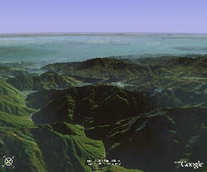 青城山―都江堰 - Google Earth
