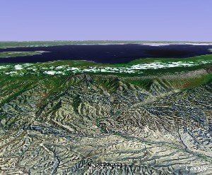 Qinghai Lake - Google Earth