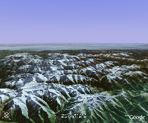 四姑娘山 - Google Earth