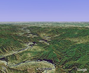 Shidu - Google Earth