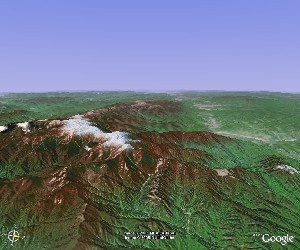 太白山 - Google Earth