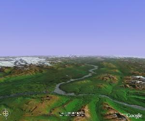 兰格尔-圣伊利亚斯国家公园 - Google Earth