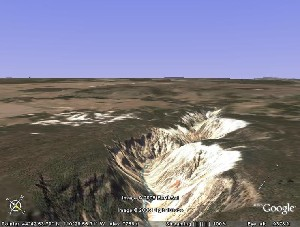 Yellowstone National Park - Google Earth