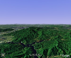 Star Lake of Zhaoqing - Google Earth