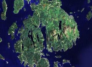 阿卡迪亚国家公园 - Google卫星照片