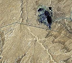 羚羊峡 - Google卫星照片