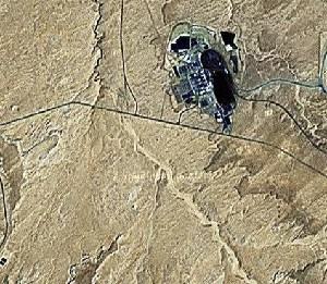 Antelope Canyon - Google Satellite Photo