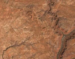 Arches National Park - Google Satellite Photo