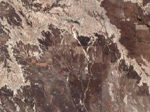 Badlands National Park - Google Satellite Photo