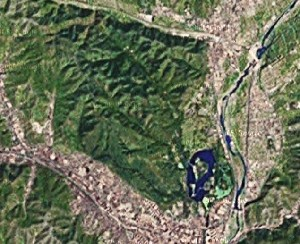 Chengde Mountain Resort and Outlying Temples - Google Satellite Photo