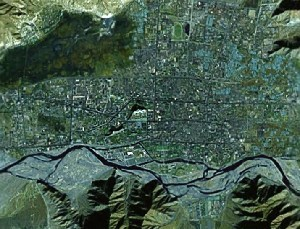 Potala - Google Satellite Photo