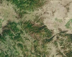 Northern Mount Heng - Google Satellite Photo