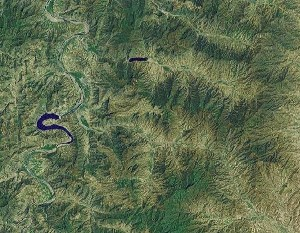 Mount Cangyan - Google Satellite Photo