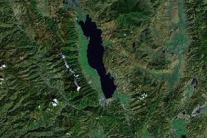 大理,蒼山,洱海 - Google衛星照片