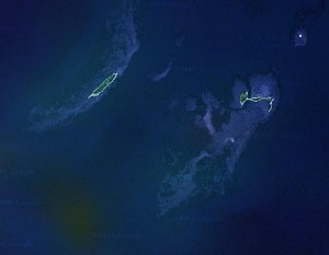 Dry Tortugas National Park - Google Satellite Photo