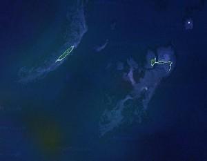 Dry Tortugas 国家公园 - Google卫星照片