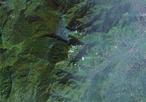 峨眉山 - Google卫星照片
