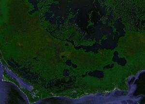 大沼泽国家公园 - Google卫星照片