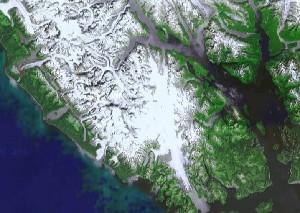 Glacier Bay National Park - Google Satellite Photo