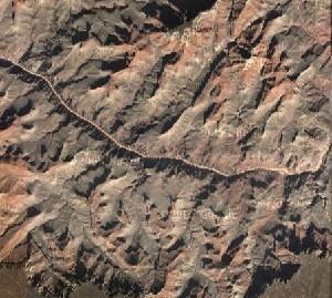 大峡谷国家公园 - Google卫星照片