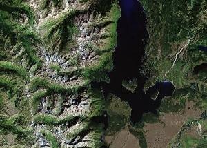 大提顿国家公园 - Google卫星照片
