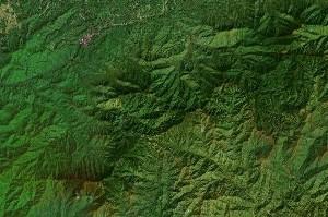 大雾山国家公园 - Google卫星照片