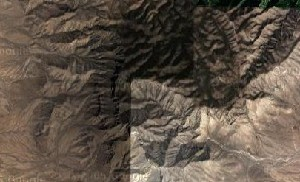 Guadalupe Mountains National Park - Google Satellite Photo