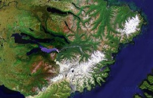 Katmai National Park - Google Satellite Photo