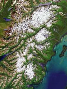 克拉克湖国家公园 - Google卫星照片