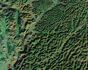 Maling River - Google Satellite Photo