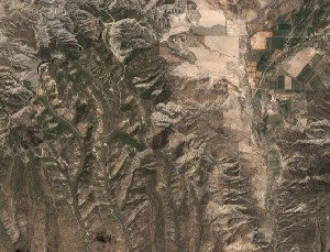 Mesa Verde National Park - Google Satellite Photo