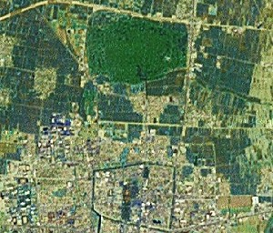 Temple, Mansion, and Cemetery of Confucius - Google Satellite Photo
