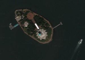 自由女神 - Google衛星照片