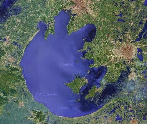 Lake Tai - Google Satellite Photo